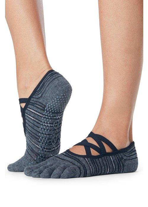 Toesox Toesox Yoga Sokken Elle Dichte Tenen - Diverge