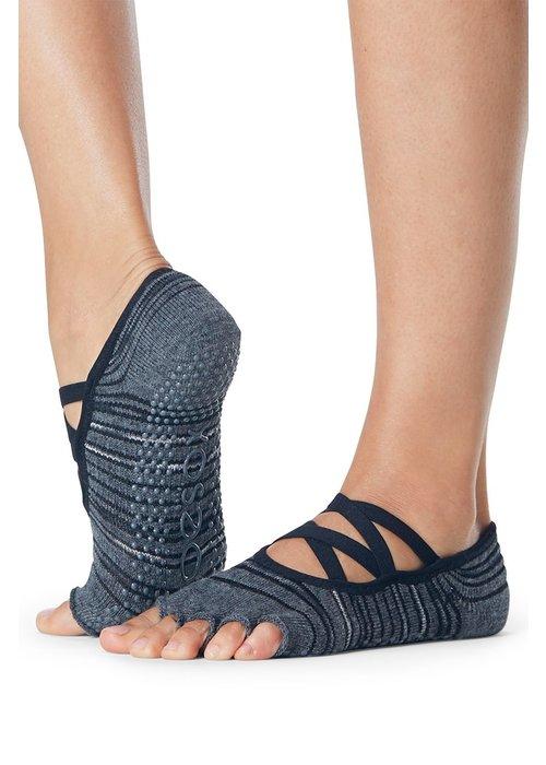 Toesox Toesox Yoga Halbzehsocken Elle - Diverge