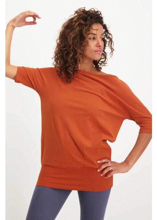 Urban Goddess Urban Goddess Bhav Yoga Tunic - Rust