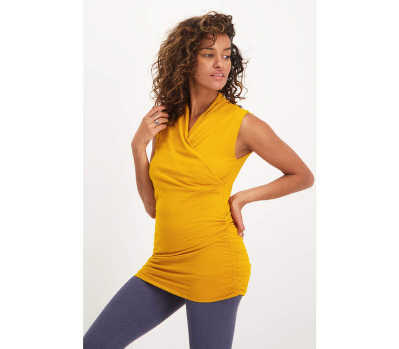 Urban Goddess Good Karma Yoga Top -  Gold