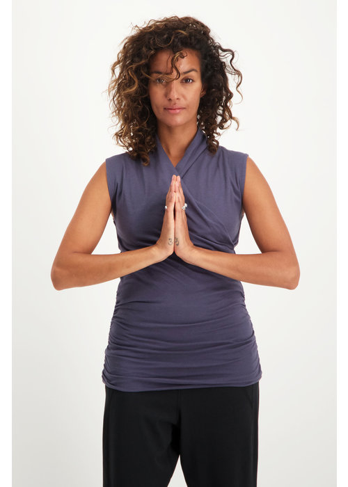 Urban Goddess Urban Goddess Good Karma Yoga Top -  Rock