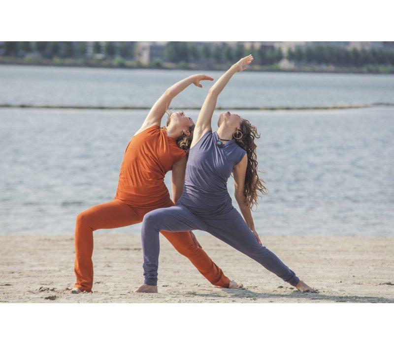 Urban Goddess Good Karma Yoga Top -  Rock