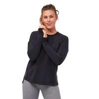 Manduka Rise And Shine Sweatshirt - Black