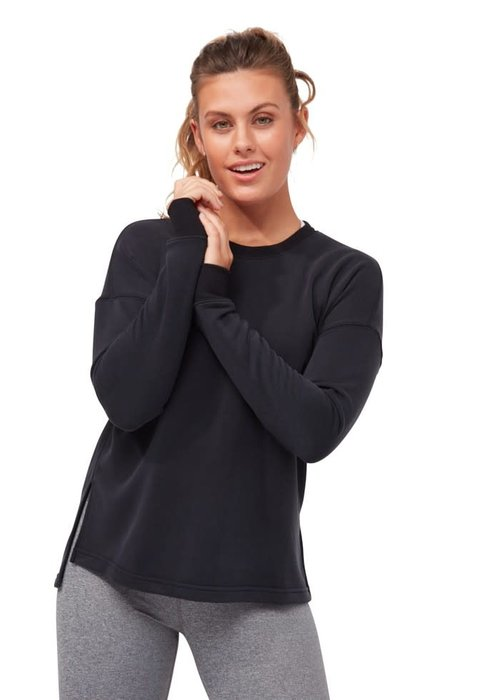 Manduka Manduka Rise And Shine Sweatshirt - Black
