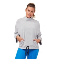 Manduka Upward Mockneck Pullover - Heathered Grey