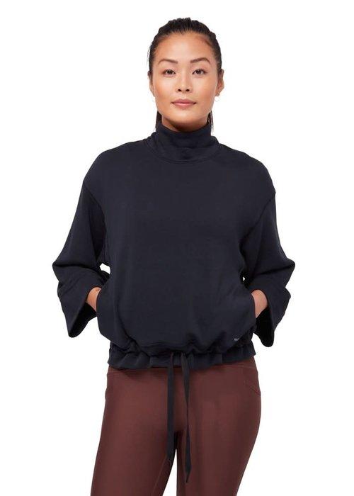 Manduka Manduka Upward Mockneck Pullover - Black