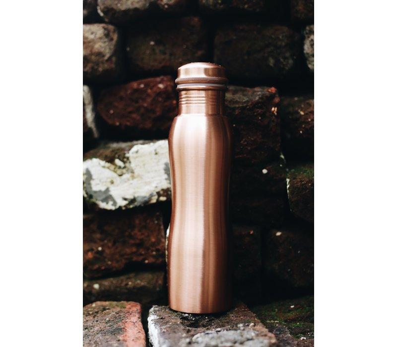 Forrest & Love Kupfer Trinkflasche 900ml - Matt Curve
