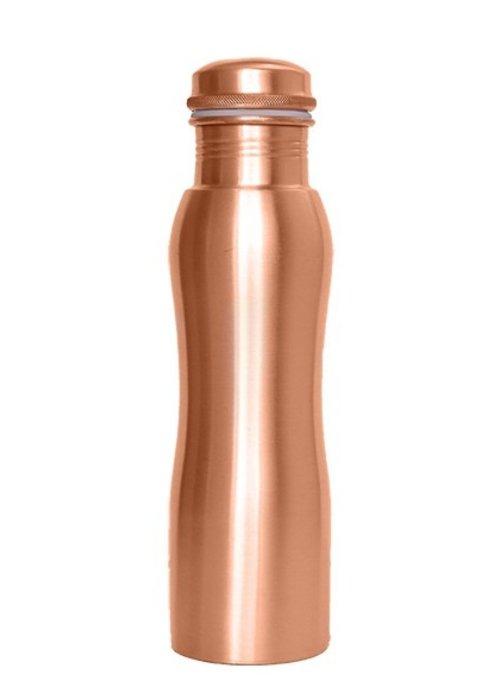 Forrest & Love Forrest & Love Koperen Drinkfles 900ml - Matt Curve