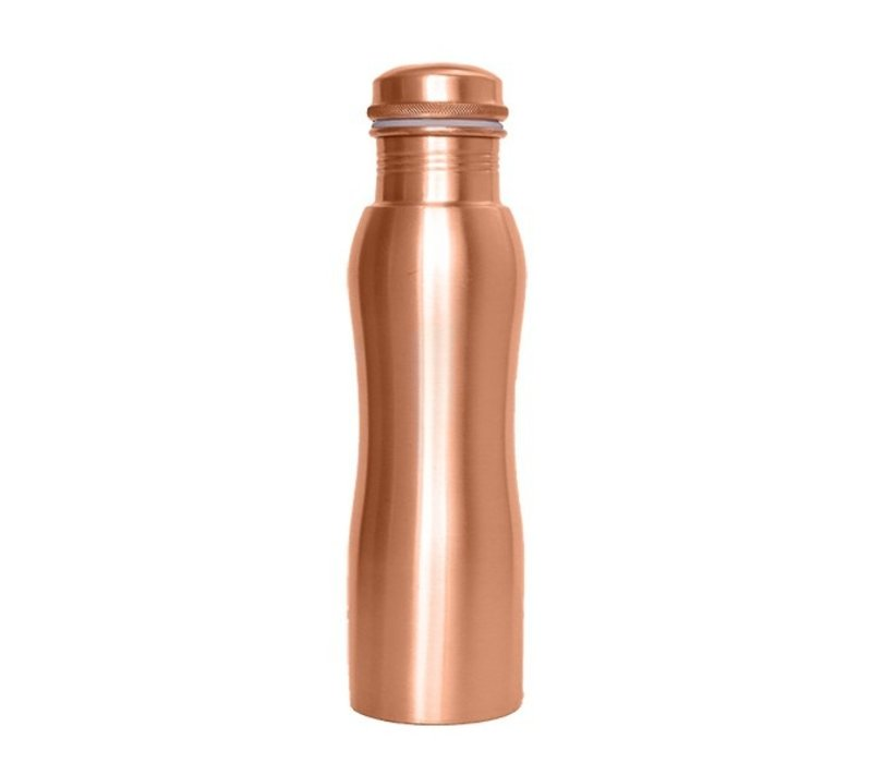 Forrest & Love Copper Bottle 900ml - Matt Curve