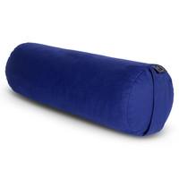 Yoga Bolster Rond Boekweit - Donkerblauw