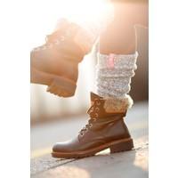 Soxs Leg Warmer - Bubble Gum/Grey