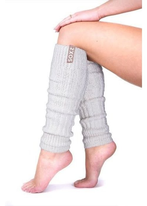 Soxs Soxs Leg Warmers - Nude/Off White