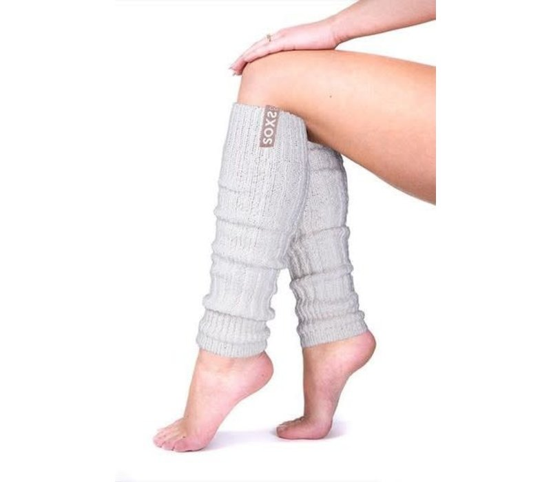 Soxs Leg Warmers - Nude/Off White