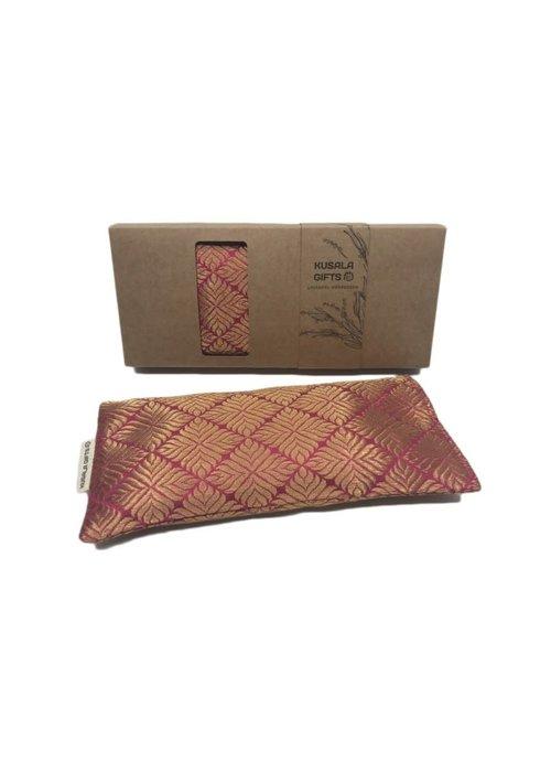 Kusala Kusala Eye Pillow Silk - Nairobi Magenta