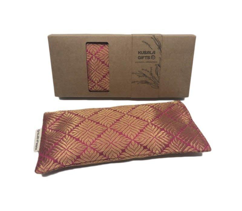 Kusala Eye Pillow Silk - Nairobi Magenta