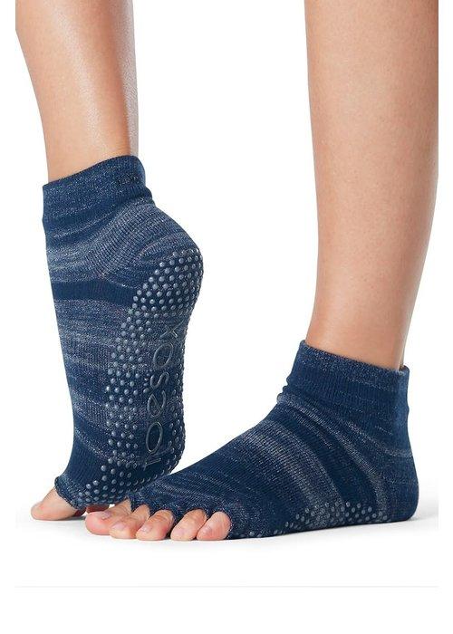 Toesox Toesox Ankle Half Toe - Nebula