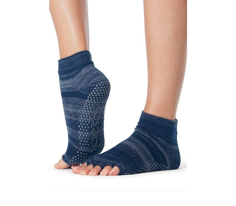 Toesox Yoga Sokken Enkelhoogte Open Tenen - Nebula