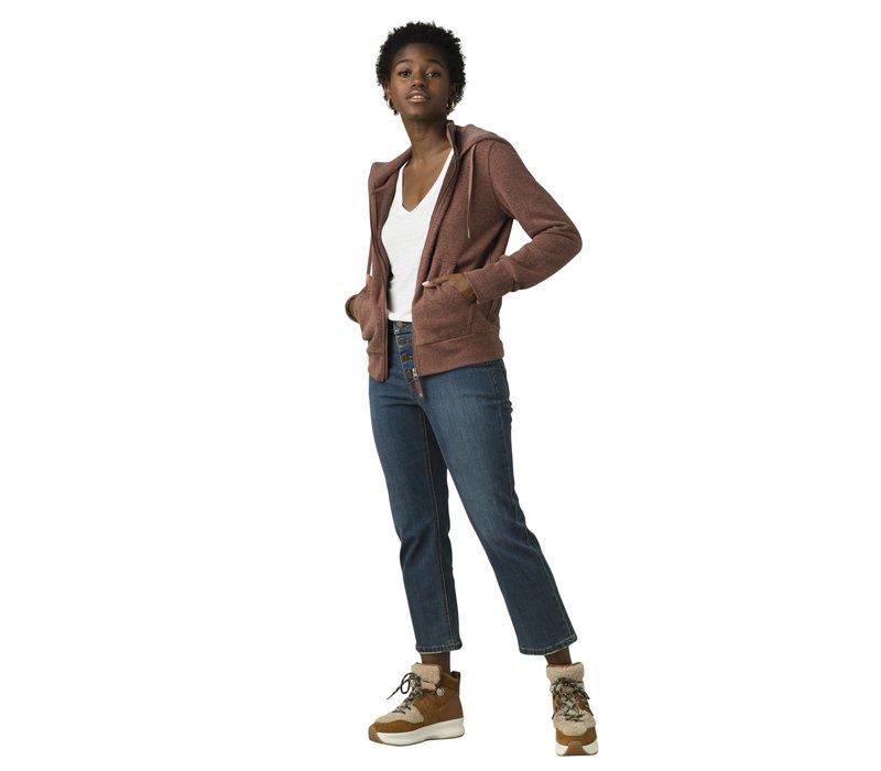 PrAna Cozy Up Jacket - Flannel Heather