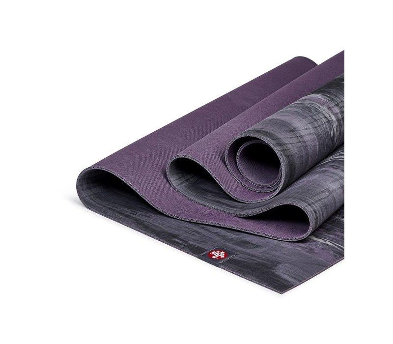 Manduka eKO Lite Yoga Mat 180cm 61cm 4mm - Black Amethyst Marbled
