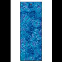 Yogitoes Yoga Towel 172cm 61cm - Groovy Playa Hand Dye Blue