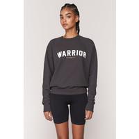 Spiritual Gangster Warrior Classic Crew Sweatshirt - Vintage Black