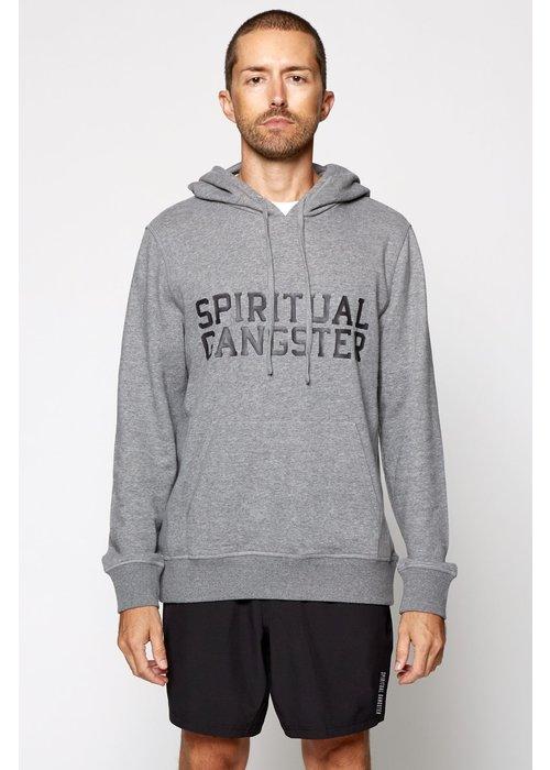 Spiritual Gangster Spiritual Gangster Varsity Hoodie - Heather Grey