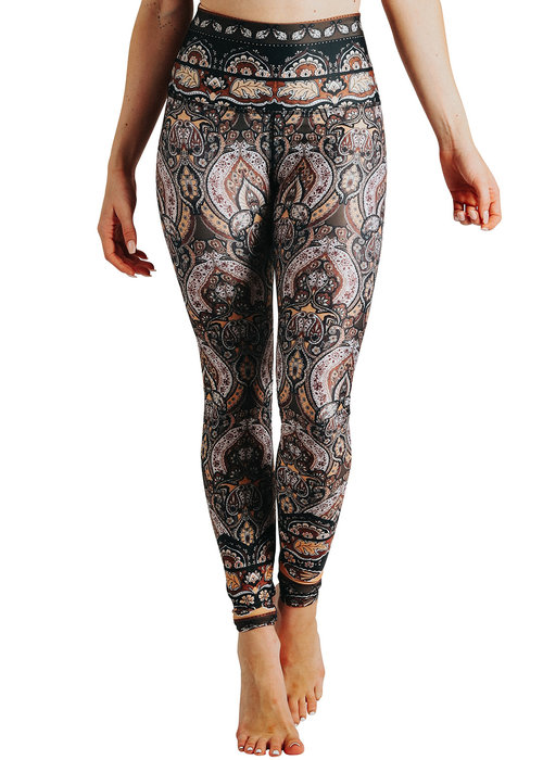 Yoga Democracy Yoga Democracy Yoga Legging - Espresso Yourself