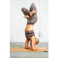 Yoga Democracy Yoga Legging - Espresso Yourself