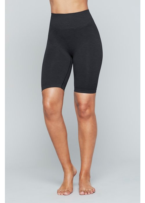 Moonchild Yoga Wear Moonchild Yoga Wear Seamless Biker Shorts - Onyx Black