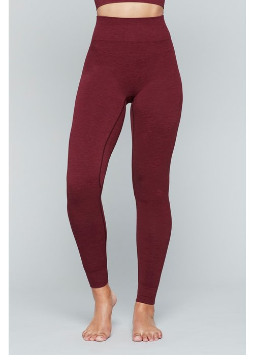 Moonchild Yoga Wear Moonchild Yoga Wear Seamless Leggings - Deepest Red