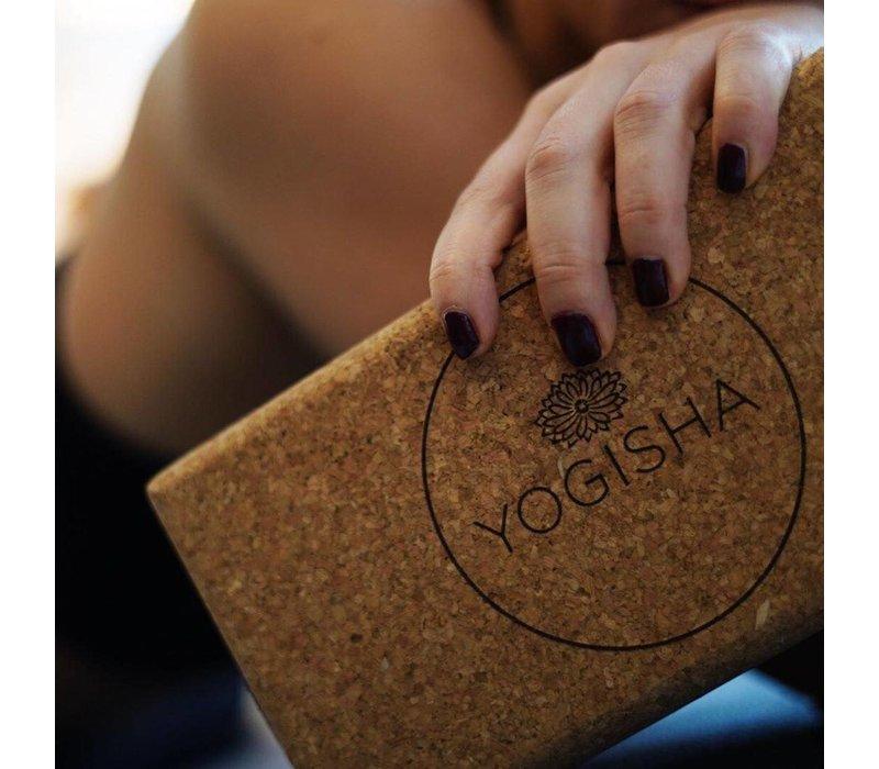 Yogisha Yoga Block Kork