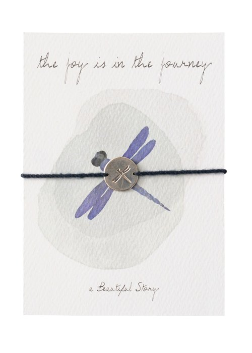 A Beautiful Story A Beautiful Story Sieraden Ansichtkaart - Dragonfly