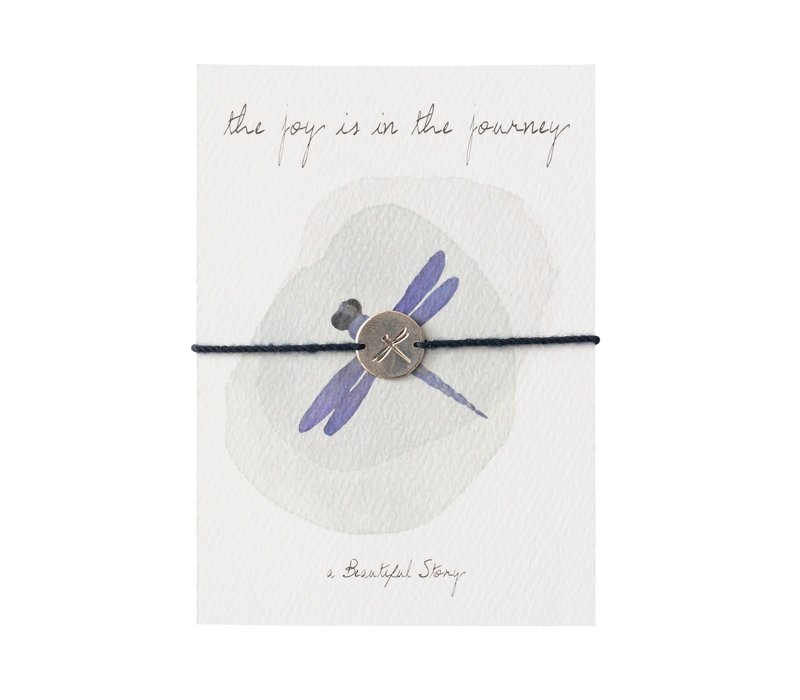 A Beautiful Story Jewelry Post Card - Dragonfly