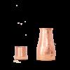Forrest & Love Forrest & Love Kupferwasserkaraffe 1000ml - Luxury Matt