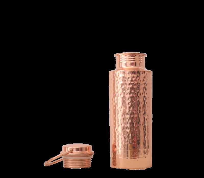 Forrest & Love Copper Bottle 700ml - Luxury Beau Hammered