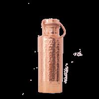 Forrest & Love Koperen Drinkfles 700ml - Luxury Beau Hammered