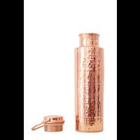 Forrest & Love Kupfer Trinkflasche 1000ml - Luxury Beau Gehämmert