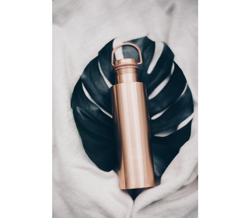 Forrest & Love Kupfer Trinkflasche 1000ml - Luxury Beau Matt