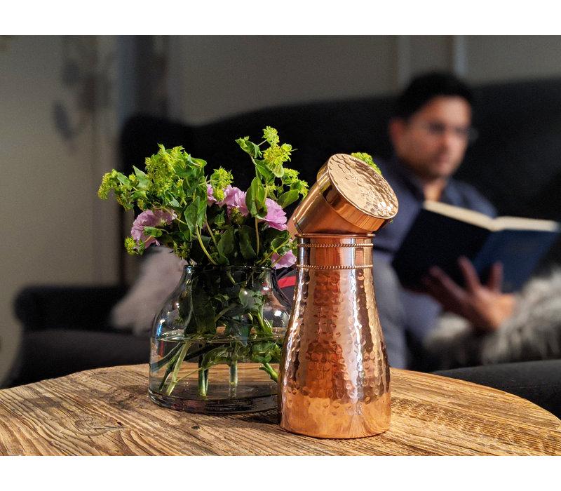 Forrest & Love Kupferwasserkaraffe 1000ml - Luxury Matt