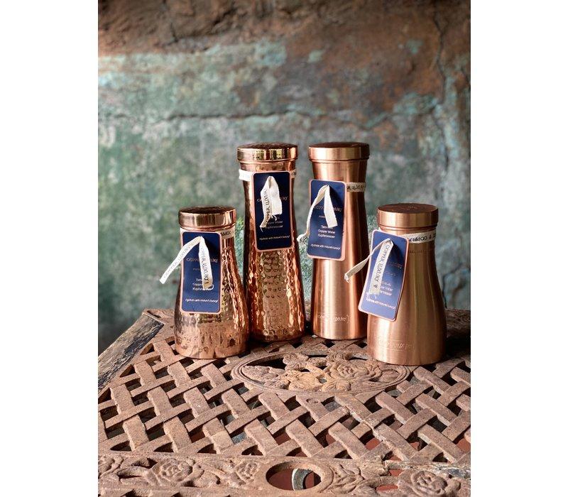 Forrest & Love Kupferwasserkaraffe 1200ml - Luxury Gehämmert