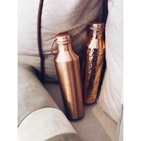 Forrest & Love Kupfer Trinkflasche 850ml - Luxury Crystal Gehämmert