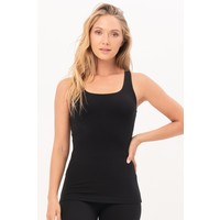 House of Gravity Strappy Tank Top - Black Sapphire