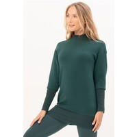 House of Gravity Sweater Dress - Emerald Green