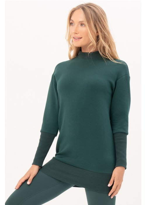 House Of Gravity House of Gravity Sweater Dress - Emerald Green