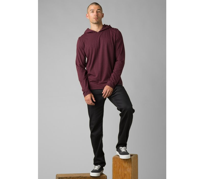 PrAna Hooded T-Shirt - Raisin Heather