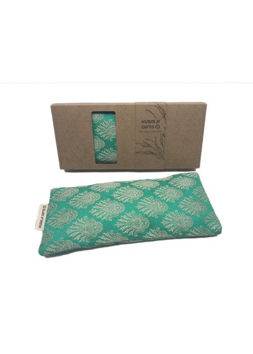 Kusala Kusala Eye Pillow Silk - Amsterdam Mint Green