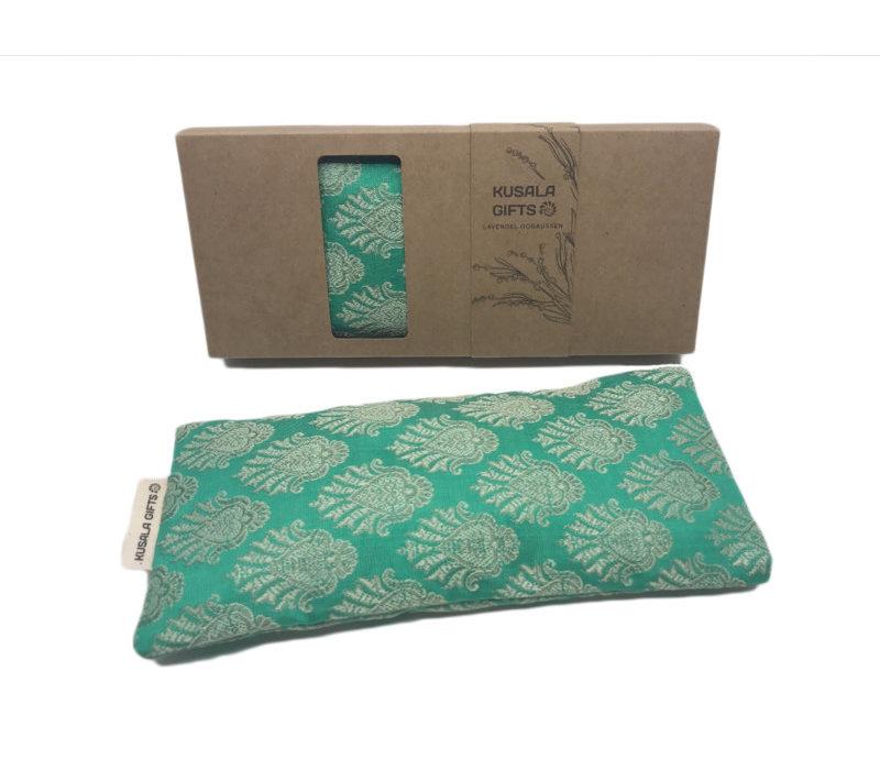 Kusala Eye Pillow Silk - Amsterdam Mint Green
