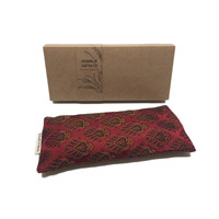 Kusala Eye Pillow Silk - Memphis Bordeaux