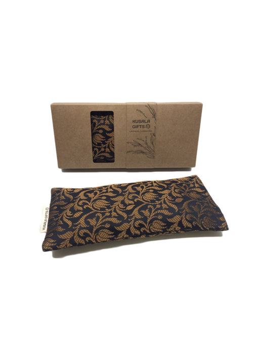 Kusala Kusala Eye Pillow Silk - Manila Black