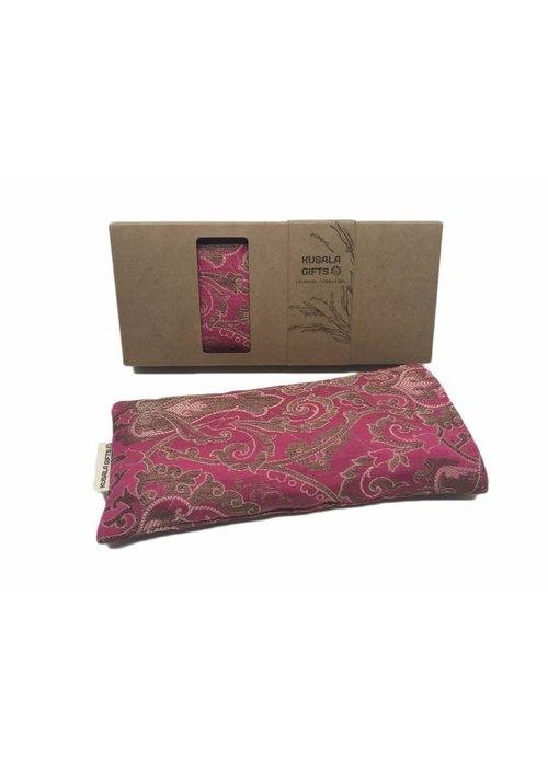 Kusala Kusala Eye Pillow Silk - Seattle Fuchsia